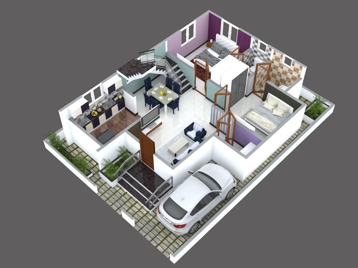 3d Floor Plan Designers Online In Bangalore