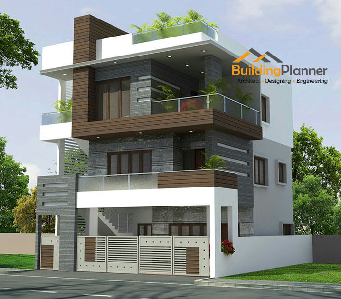 Front Elevation Design In Revit : Architects in bangalore floor plan house d