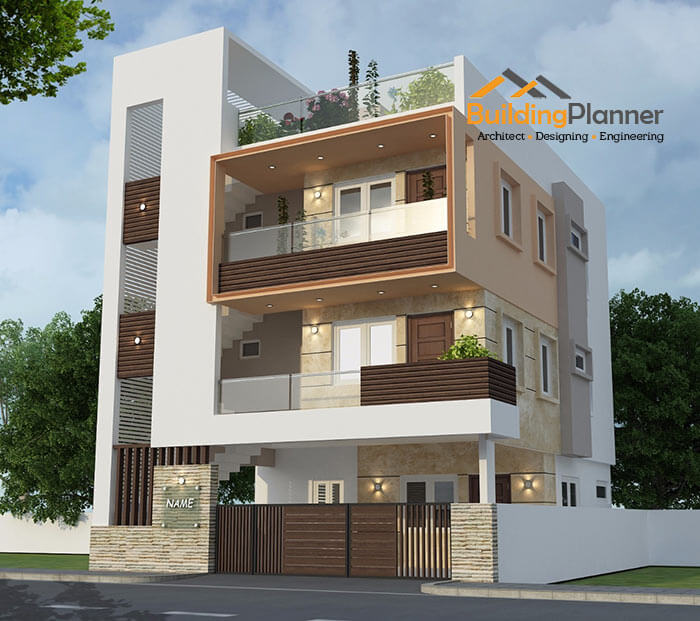 Modern Home Elevation Designs: 3D Elevation Architectural Designers In Bangalore