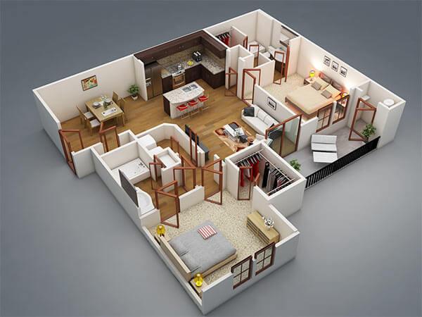 Get House Plan, Floor Plan, 3D Elevations online in